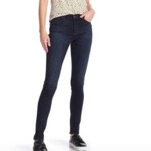 AG The Lux Ankle Skinny Legging Jeans Dark Blue